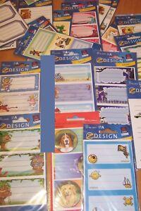 Details Zu Avery Zweckform Zdesign Buch Heft Aufkleber Verschiedene Motive Schule