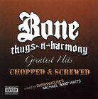 Greatest Hits (Chopped & Screwed) [PA] by Bone Thugs-N-Harmony (CD, Nov-2005, 2 Discs, Ruthless Records)