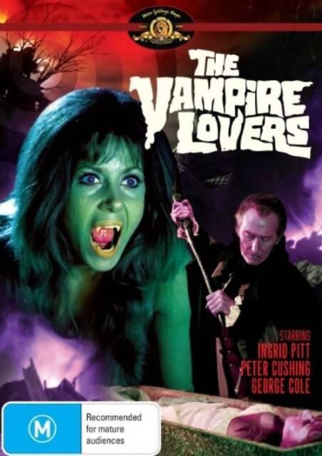 The Vampire Lovers ( DVD ) Brand New! Australian Release  by Shock