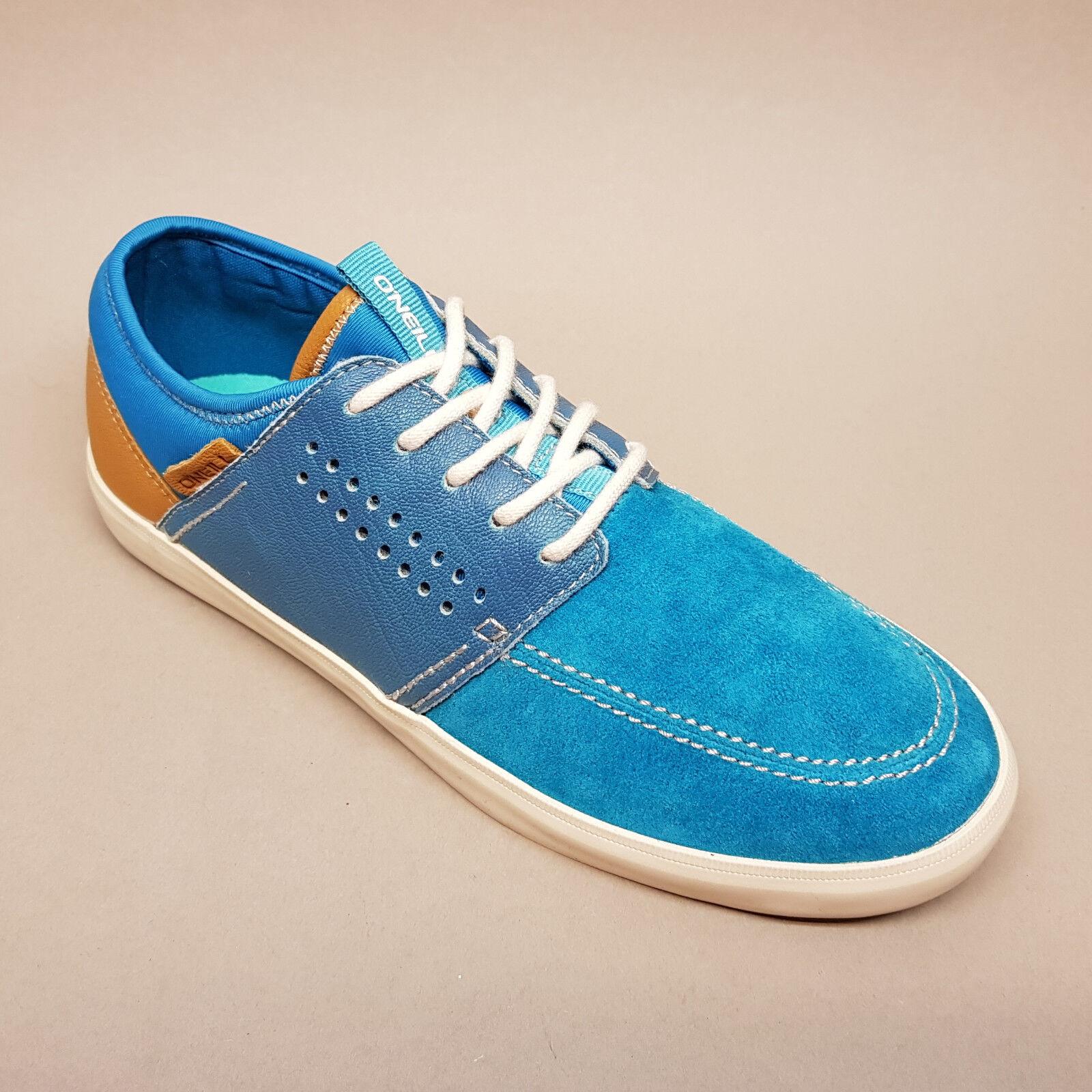 O'Neill Mutant Petrol Suede 59.1098.01 S35 Sneaker Halbschuhe blau 39 40 41 43