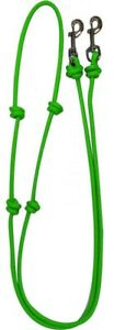 Showman-LIME-GREEN-Western-Nylon-Barrel-Reins-w-Snaps-NEW-HORSE-TACK