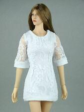 1/6 Phicen, Hot Toys, Kumik, Cy Girl, ZC, TTL, NT - Female White Lace Dress