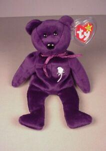 Ty Beanie Baby Babies Princess Diana Bear Mint with Tags MWT NWT ... 2c8d85328b7d