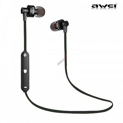 Awei A990BL Noise Isolation Waterproof Sport Bluetooth Earphone with Mic.