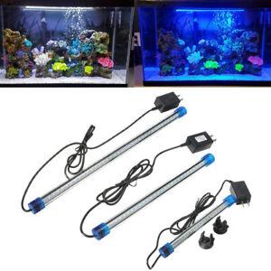 Aquarium-Fish-Tank-Waterproof-Blue-White-RGB-LED-Light-Bar-Submersible-Lamp-NEW