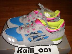 shoes for cheap sneakers for cheap great look Details about Asics Gel-Lyte III Sz 11.5 Grey Royal Blue Ronnie Fieg Kith  Mint Leaf Rose B
