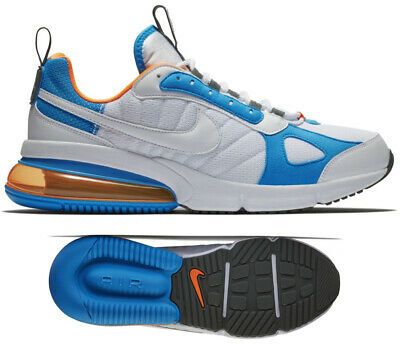 New Nike Air Max 270 Futura Mens White Blue Orange Athletic