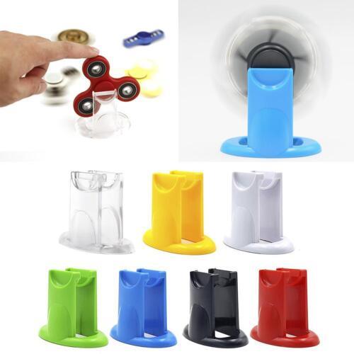 Hand Fidget Spinner Finger Gyro Holder Spinner Display Stand Bracket Support 0#