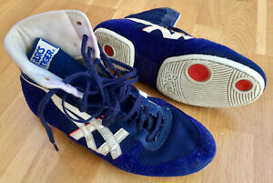 Details zu Original Asics Tiger wrestling shoes Ringer Schuhe Gr. 9 1986 vintage