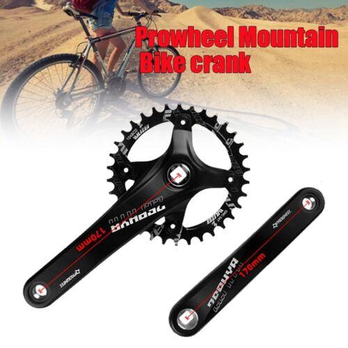Prowheel MTB Mountain Bike Crank 30//32//34//36//38//40//42T Sprocket 104BCD Crankset