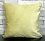 Cushion-cover-or-Filled-cushion-crush-velvet-shaggy-Mustard-silver-NEW-17-034-x-17-034 thumbnail 28