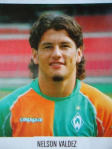 Panini 84 BL Fussball 2005//06 Nelson Valdez Werder Bremen