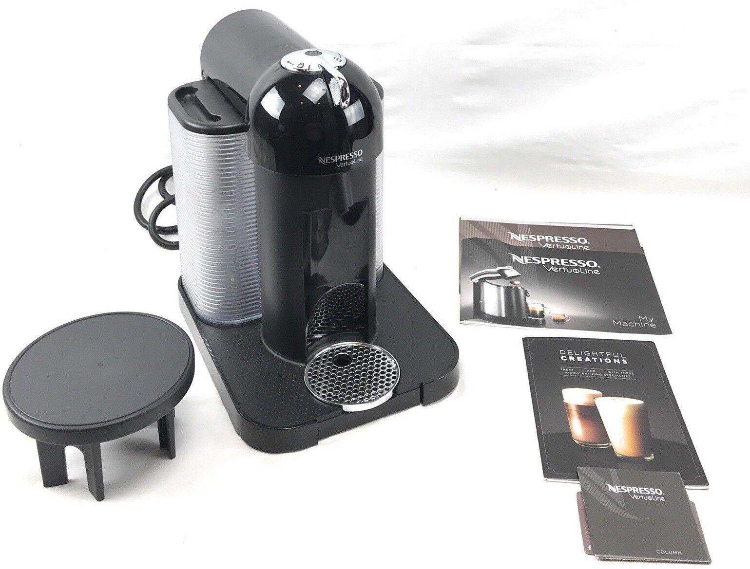Nespresso GCA1-US-BK-NE VertuoLine Café et Expresso Maker Noir