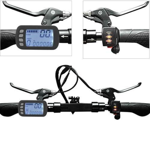 36V//48V24V//36V 250W//350W Brushless Motor Controller LCD Panel Kit for E-bike