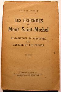 MONT-ST-MICHEL-LEGENDES-ABBAYE-ET-PRISONS-E-DUPONT-1940
