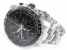 Seiko Flightmaster Sportura Pilot Chronograph Men's Watch SNAE99P1