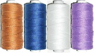 200MTR SPOOL POLY//COTTON TOP QUALITY 36/'S JEAN REPAIR THREAD VARIOUS COLOURS