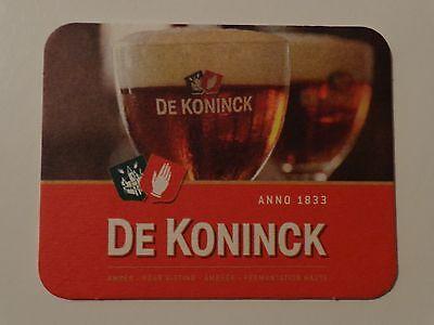 Romantisch Bier Bierdeckel Untersetzer ~ De Koninck Brewery Bernstein ~ Antwerpen Reklame & Werbung Bier & Bierdeckel Belgien Elegant Im Stil