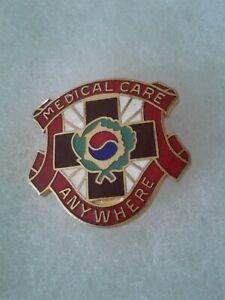 Authentic-US-Army-4th-Field-Hospital-Unit-DI-DUI-Crest-Insignia-V21