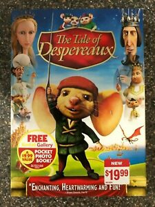 The-Tale-of-Despereaux-DVD-2009-New-Sealed-Free-Shipping