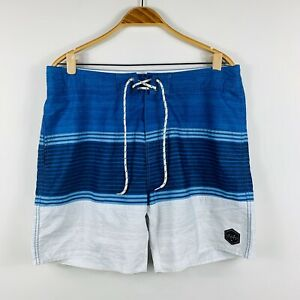 Rip-Curl-Mens-Boardshorts-Size-36-Swim-Shorts-Blue-White-Aussie-Surfwear