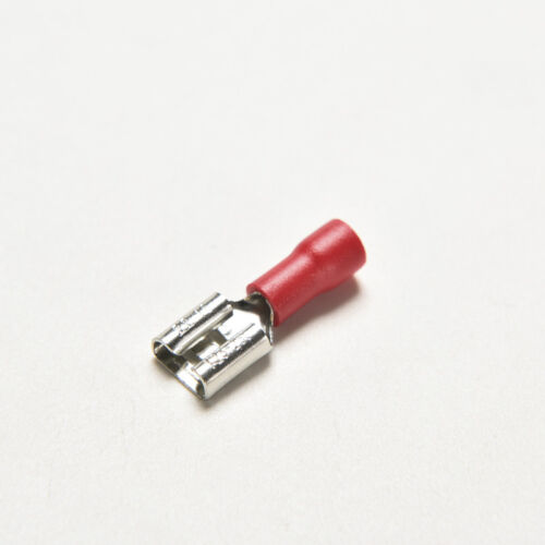 20 Red Female Insulated Spade Wire Connector Electrical Crimp Terminal 16-22 HK