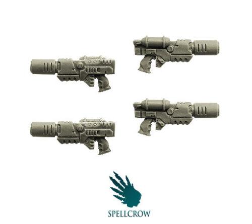 SPELLCROW Melting Guns BITS 28mm COMPATIBLE GUNS WAR GAMES MINIS MINIATURES PDT