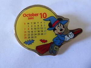 Disney-Trading-Pins-7025-TDL-October-2001-Calendar-Minnie
