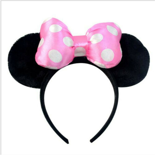 Mickey Mouse Ears Headband Fancy Dress Accessory Adults Kids Birthday Party Fun