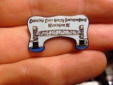 Harley Davidson Dealer vest PIN Carolina Coast NC SC electra street road glide
