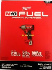 "NEW IN BOX Milwaukee 18V 2754-20 FUEL 3/8"" Brushless Impact Wrench M18 Cordless"