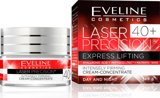 Laser Präzision Lifting Tages- und Nachtcreme 40+, 50 ml