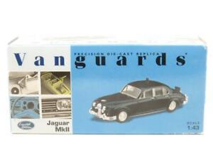 Corgi-Vanguards-VA08400-Jaguar-MKII-Somerset-policia-1-43-ESCALA-en-Caja