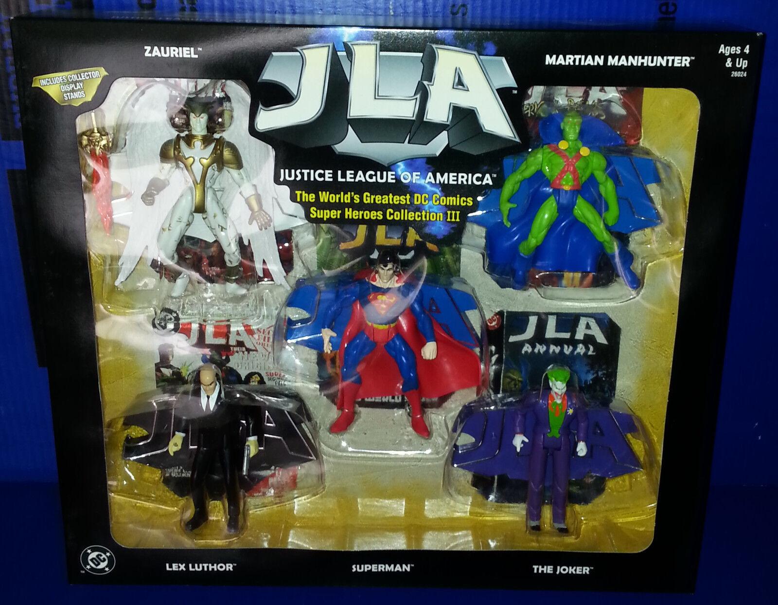 Jla superhelden sammlung iii superman lex luthor joker festgelegten zahl dc comics