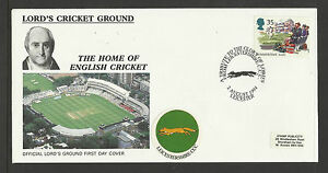 GB 1994 SUMMERTIME LORD'S CRICKET GROUND FDC Leicestershire Pictorial Postmark