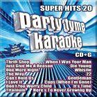 Party Tyme Karaoke: Super Hits, Vol. 20 by Karaoke (CD, 2013, Sybersound Records)
