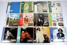 JOHN LENNON ~ JAPAN MINI LP CD, LOT OF 12 ALBUMS, ORIGINAL, RARE/ THE BEATLES