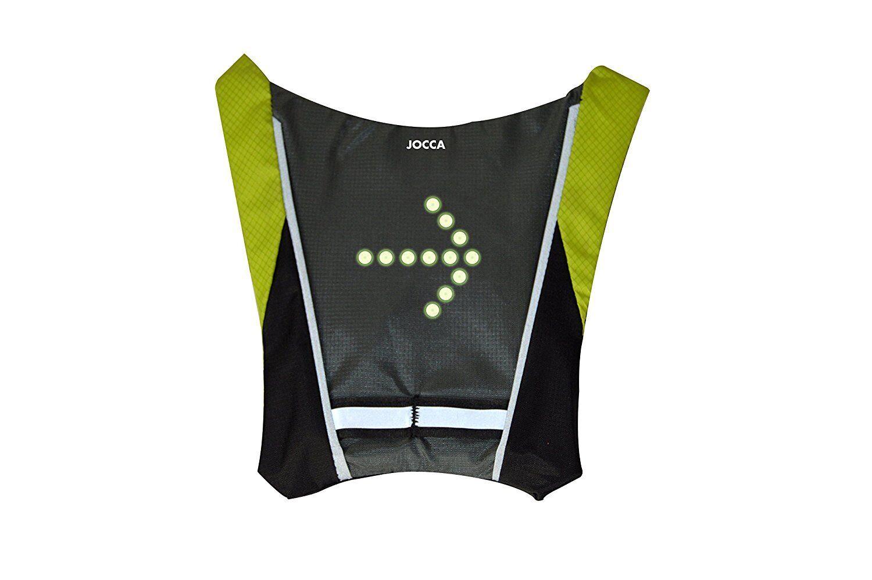 Jocca Gilet bicicletta unisex con indicatore di luce LED sottolineare tus