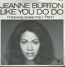 """45T 7"""": Jeanne Burton: like you do do. barclay. A4"""