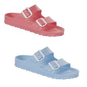 20018032b4b6 Image is loading Birkenstock-Arizona-Soft-EVA-Rubber-Waterproof-Slides- Sandals-