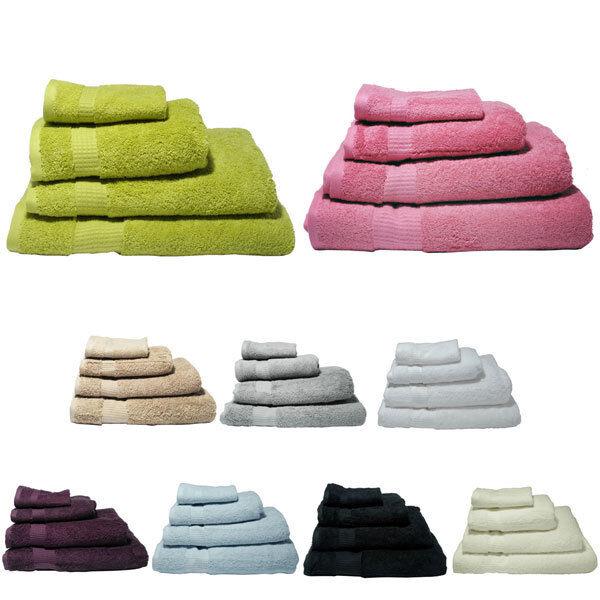 Indulgence 100% turque Lot de 10 serviettes en coton