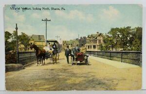 Sharon-Pa-View-Viaduct-Looking-North-c1911-Postcard-N10