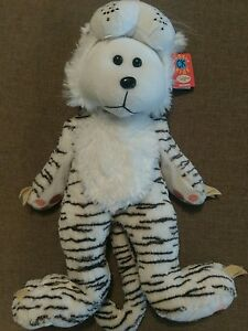 CUDDLY-KID-SNOWY-THE-WHITE-TIGER-BEAR-KENNYS-CARDIOLOGY-EXCLUSIVE-MWMT