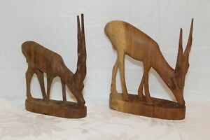 Hand-Carved-Wooden-Gazelle-Antelope-Made-in-Kenya-BESMO-CO