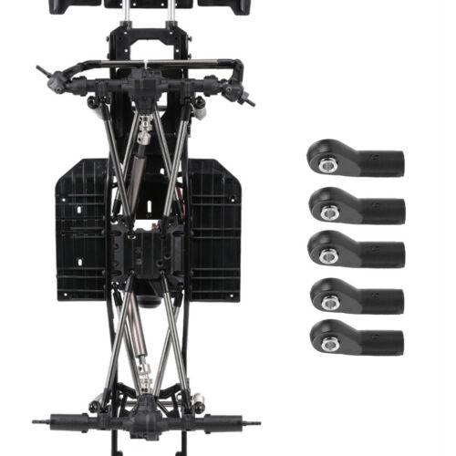 10 stücke M4 Kugelkopf Halter Link Gelenkkopf für Axial SCX10 1//10 RC Auto
