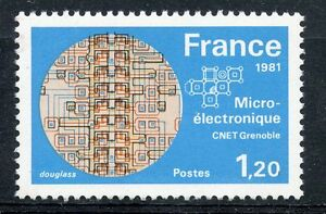 STAMP-TIMBRE-FRANCE-NEUF-N-2126-MICROELECTRINIQUE