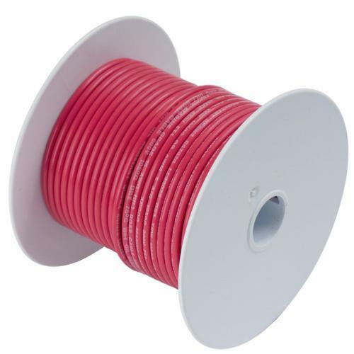 Ancor 113505 Marine Grade Boat//RV Battery Cable #4 Gauge Red 50/'