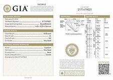 NEW GIA natural diamond loose round brilliant 0.30ct D SI2 4.26-4.29 x 2.66mm