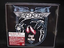 ENFORCER Live By Fire JAPAN DVD + CD Alpha Tiger Skull Fist White Wizzard Wolf