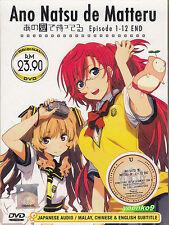 DVD Anime Ano Natsu de Matteru Complete TV Series 1-12 End English Sub Region 0
